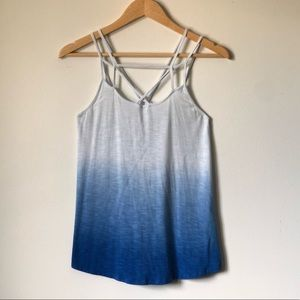 American Eagle Soft & Sexy ombré strappy tank - XS